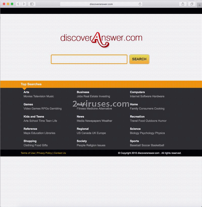 Discoveranswer.com 바이러스