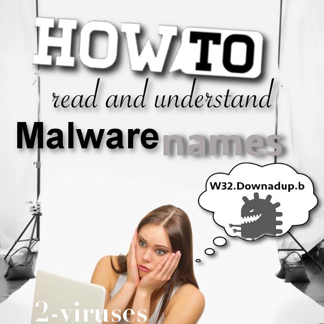 멀웨어 이름 읽고 이해하는 방법
