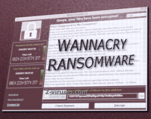 WannaCryptor 랜섬웨어
