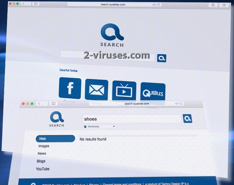 Search.quebles.com 바이러스